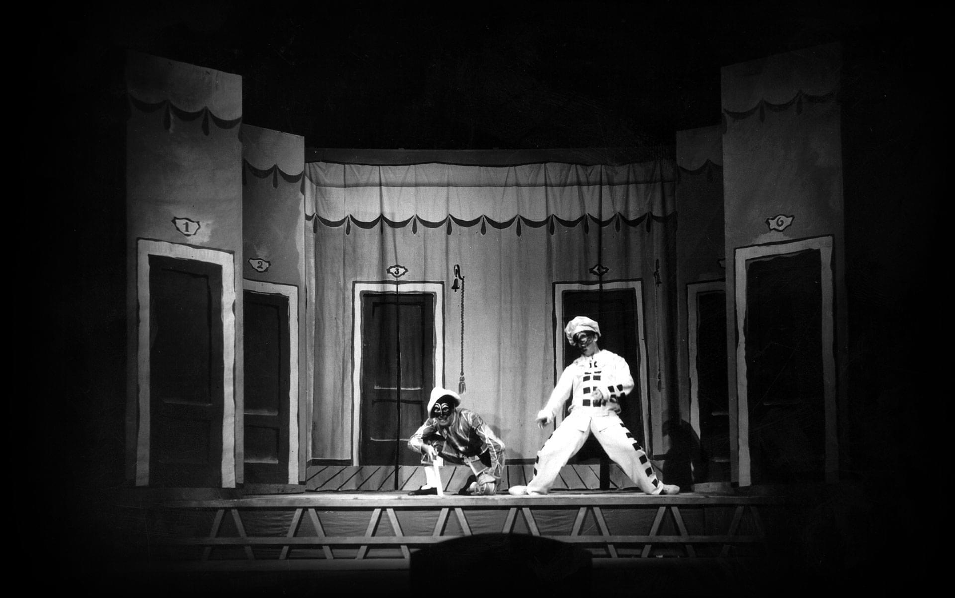 Marcello Moretti e Franco Parenti - Archivio Piccolo Teatro di Milano