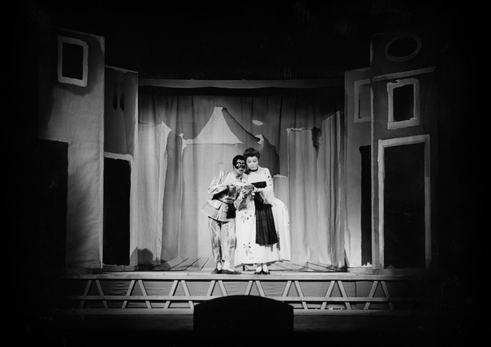 Marcello Moretti e Anna Maestri - Archivio Piccolo Teatro di Milano