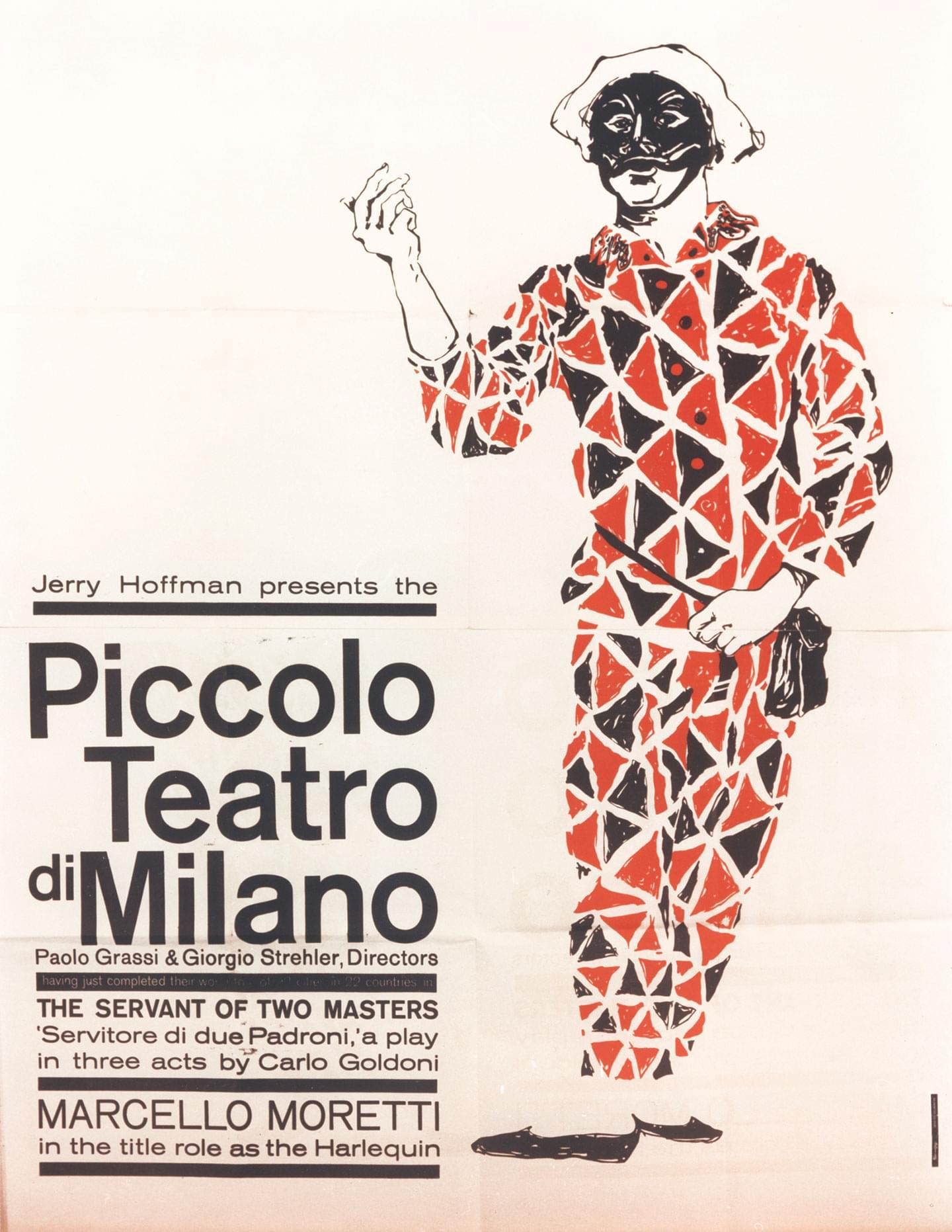 Tournée USA, 1960 - Archivio Piccolo Teatro di Milano