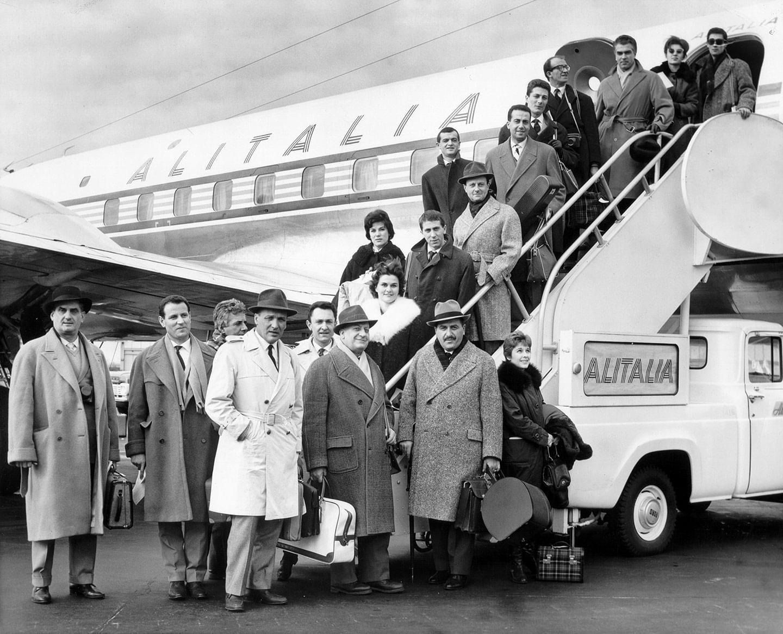 1960. La compagnia di<em>Arlecchino</em>vola negli Stati Uniti - Archivio Piccolo Teatro di Milano